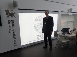 Branko at University of Birmingham