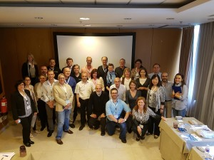Advanced Diamond Workshop partcicipants May 9 2016 Valencia MGJ Conference