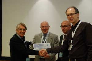 Branko, George giving cert to Adolfo MGJ conference 2016