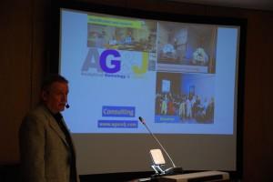 Dusan Simic AG J giving a talk at MGJ Conference 2016