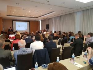 Gaetano C. talking at MGJ Conference 2016 Spain