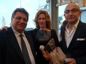 Gaettano C., Zeljka V. and George S. at MGJ Conference dinner