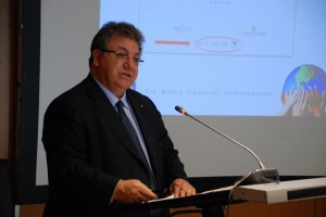 Gaettano C. talking at Conference