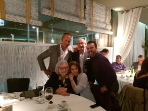 Gail L, Alan H, George S., Elena N., Travis L. at MGJ Conference dinner 2016