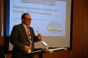 Sonny Pope Suncrest Diamonds  giving a talk at MGJ Conference 2016