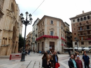 Tour of old city center Valencia 2016