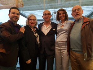 Travis L., Gail L., George S., Elena N. and Padiac at MGJ Conference dinner