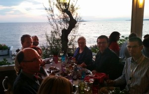 Conference Dinner by the sea